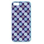 Snowflakes Pattern Apple Seamless iPhone 5 Case (Color)