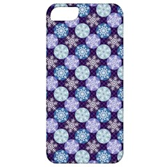 Snowflakes Pattern Apple Iphone 5 Classic Hardshell Case by DanaeStudio