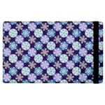 Snowflakes Pattern Apple iPad 2 Flip Case