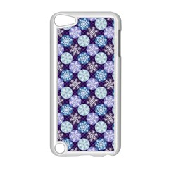 Snowflakes Pattern Apple Ipod Touch 5 Case (white) by DanaeStudio