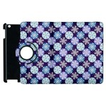 Snowflakes Pattern Apple iPad 2 Flip 360 Case