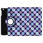 Snowflakes Pattern Apple iPad Mini Flip 360 Case