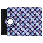 Snowflakes Pattern Kindle Fire HD Flip 360 Case