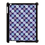 Snowflakes Pattern Apple iPad 3/4 Case (Black)