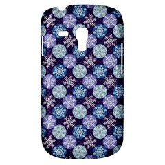 Snowflakes Pattern Samsung Galaxy S3 Mini I8190 Hardshell Case by DanaeStudio