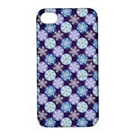 Snowflakes Pattern Apple iPhone 4/4S Hardshell Case with Stand