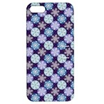Snowflakes Pattern Apple iPhone 5 Hardshell Case with Stand