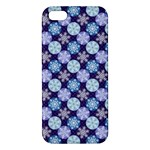Snowflakes Pattern Apple iPhone 5 Premium Hardshell Case
