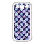 Snowflakes Pattern Samsung Galaxy S3 Back Case (White)