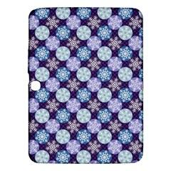 Snowflakes Pattern Samsung Galaxy Tab 3 (10 1 ) P5200 Hardshell Case