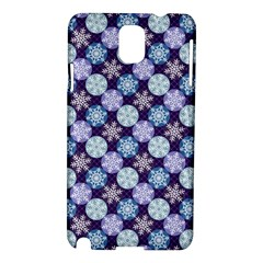 Snowflakes Pattern Samsung Galaxy Note 3 N9005 Hardshell Case by DanaeStudio