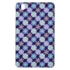 Snowflakes Pattern Samsung Galaxy Tab Pro 8 4 Hardshell Case by DanaeStudio