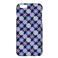 Snowflakes Pattern Apple Iphone 6 Plus/6s Plus Hardshell Case by DanaeStudio