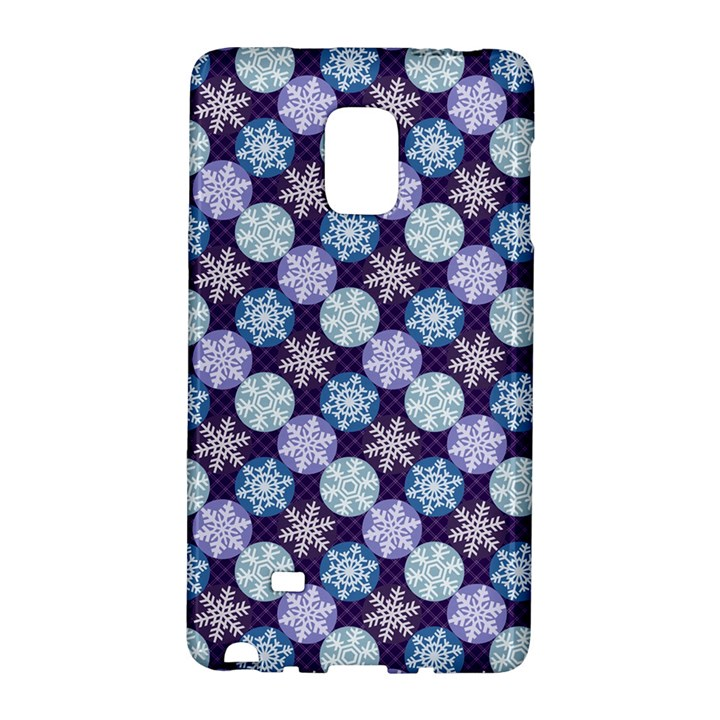 Snowflakes Pattern Galaxy Note Edge