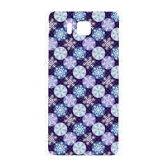 Snowflakes Pattern Samsung Galaxy Alpha Hardshell Back Case by DanaeStudio