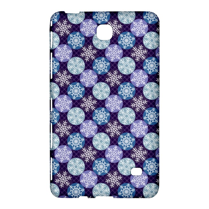 Snowflakes Pattern Samsung Galaxy Tab 4 (8 ) Hardshell Case