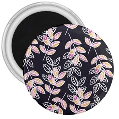 Winter Beautiful Foliage  3  Magnets by DanaeStudio