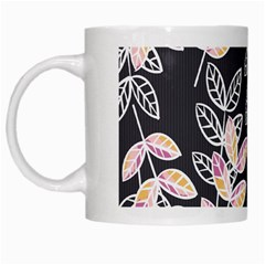 Winter Beautiful Foliage  White Mugs by DanaeStudio
