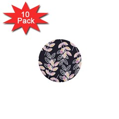 Winter Beautiful Foliage  1  Mini Buttons (10 Pack)  by DanaeStudio