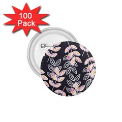 Winter Beautiful Foliage  1 75  Buttons (100 Pack)  by DanaeStudio