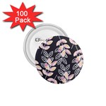 Winter Beautiful Foliage  1.75  Buttons (100 pack)
