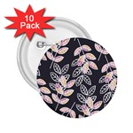 Winter Beautiful Foliage  2.25  Buttons (10 pack)