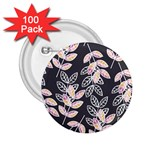 Winter Beautiful Foliage  2.25  Buttons (100 pack)