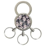 Winter Beautiful Foliage  3-Ring Key Chains