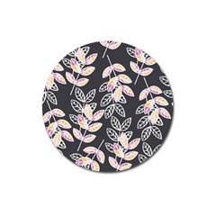 Winter Beautiful Foliage  Magnet 3  (Round)