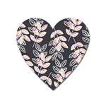 Winter Beautiful Foliage  Heart Magnet