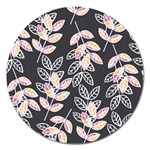Winter Beautiful Foliage  Magnet 5  (Round)