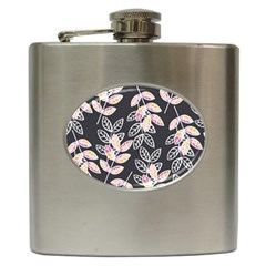 Winter Beautiful Foliage  Hip Flask (6 Oz) by DanaeStudio
