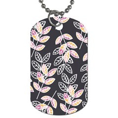 Winter Beautiful Foliage  Dog Tag (Two Sides)