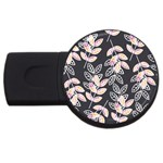 Winter Beautiful Foliage  USB Flash Drive Round (2 GB)