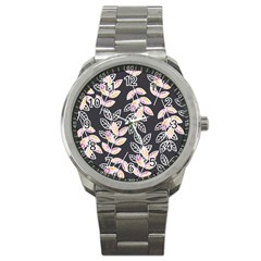 Winter Beautiful Foliage  Sport Metal Watch