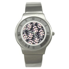 Winter Beautiful Foliage  Stainless Steel Watch by DanaeStudio