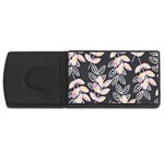 Winter Beautiful Foliage  USB Flash Drive Rectangular (4 GB)