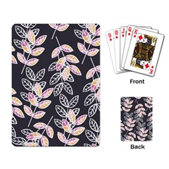 Winter Beautiful Foliage  Playing Card
