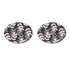 Winter Beautiful Foliage  Cufflinks (Oval)