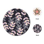 Winter Beautiful Foliage  Playing Cards (Round)