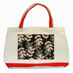 Winter Beautiful Foliage  Classic Tote Bag (Red)