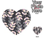 Winter Beautiful Foliage  Playing Cards 54 (Heart)  Front - Club2