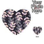 Winter Beautiful Foliage  Multi-purpose Cards (Heart)
