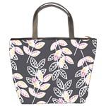 Winter Beautiful Foliage  Bucket Bags Back