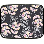 Winter Beautiful Foliage  Fleece Blanket (Mini)