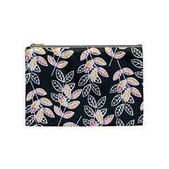 Winter Beautiful Foliage  Cosmetic Bag (medium)  by DanaeStudio