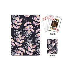 Winter Beautiful Foliage  Playing Cards (mini)  by DanaeStudio