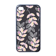Winter Beautiful Foliage  Apple Iphone 4 Case (black) by DanaeStudio