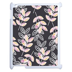 Winter Beautiful Foliage  Apple Ipad 2 Case (white) by DanaeStudio