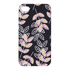 Winter Beautiful Foliage  Apple Iphone 4/4s Premium Hardshell Case by DanaeStudio
